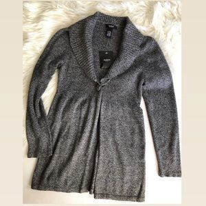 NWTS Alfani grey cardigan sweater